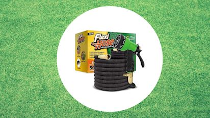 $60 retractable hose takes the work out of watering