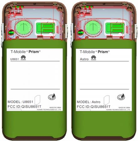 T-Mobile Prism from Huawei lands at FCC