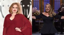 Adele reaparece en 'Saturday Night Live' y bromea sobre su transformación física