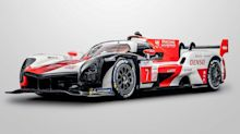 Toyota debuts race car version of its upcoming hypercar