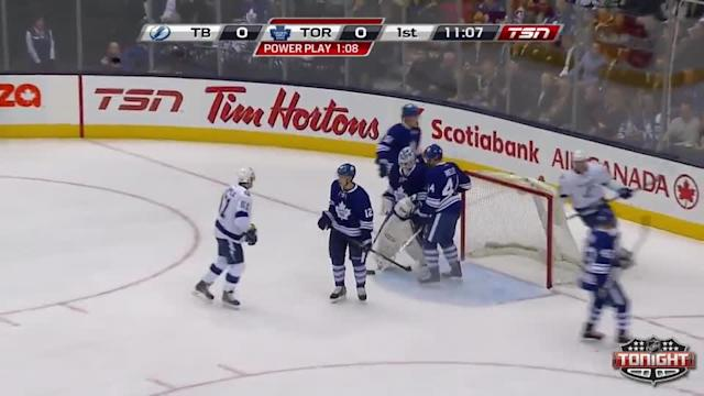 Tampa Bay Lightning at Toronto Maple Leafs - 01/28/2014
