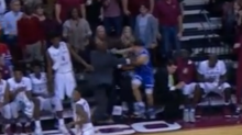 """Grayson Allen appears to shove Florida State assistant coach, but coach says play has been """"misread"""""""