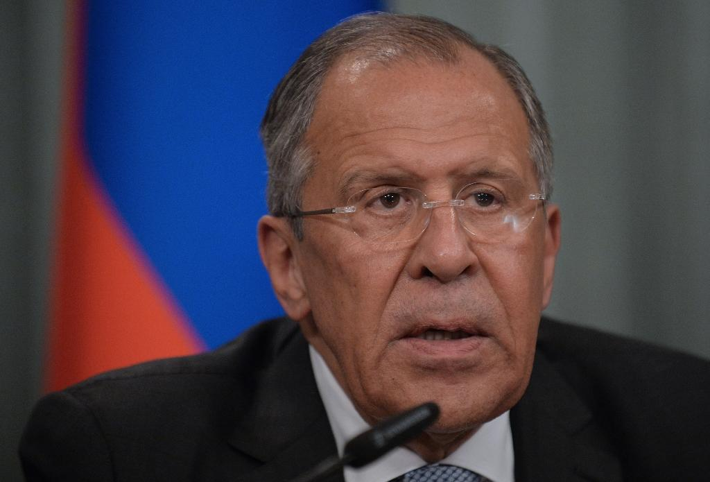 Russian Foreign Minister Sergei Lavrov dismissed US criticism of the use of Iranian base as a possible violation of a United Nations Security Council resolution (AFP Photo/Natalia Kolesnikova )