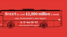 Pro-EU campaign group launches its own 'Brexit battle bus' to tour the UK