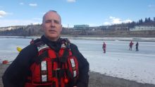 Ice conditions change fast as Yukon's warm spell continues