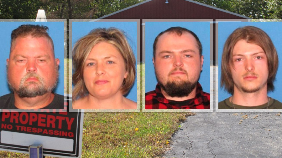 4 arrested in mystery killing of family of 8 in Ohio
