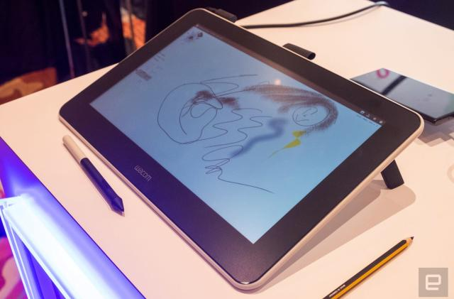 Wacom's $400 One display is perfect for amateurs