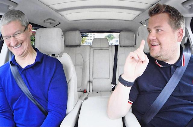 Apple Music delays its 'Carpool Karaoke' series