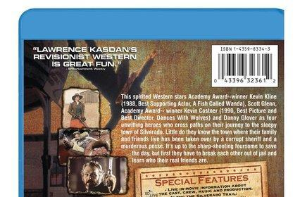Sony's movieIQ BD-Live feature  attached to Silverado, The Quick and the Dead Blu-ray discs