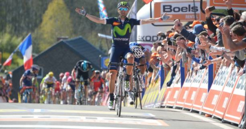 Cyclisme - Flèche - A l'assaut du Mur de Huy et d'Alejandro Valverde