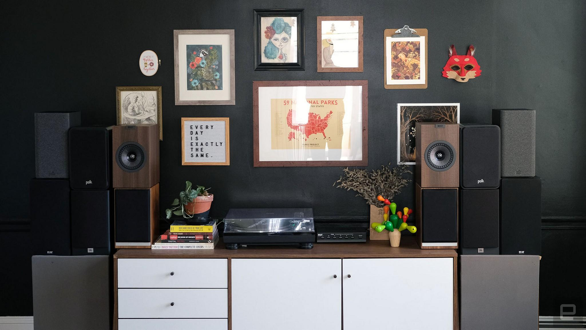 The best passive bookshelf speakers for most people   Engadget