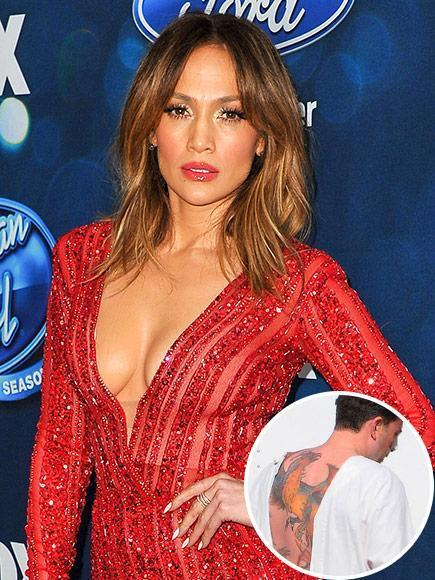 Jennifer Lopez on Ex Ben Affleck's Massive Phoenix Back ...