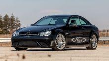 Mercedes CLK 63 AMG Black Series : un modèle rare à vendre aux enchères