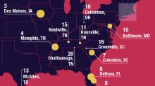 Millennial debt is rising in these U.S. cities