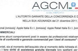 Apple features 'communication to protect consumers' in Italy
