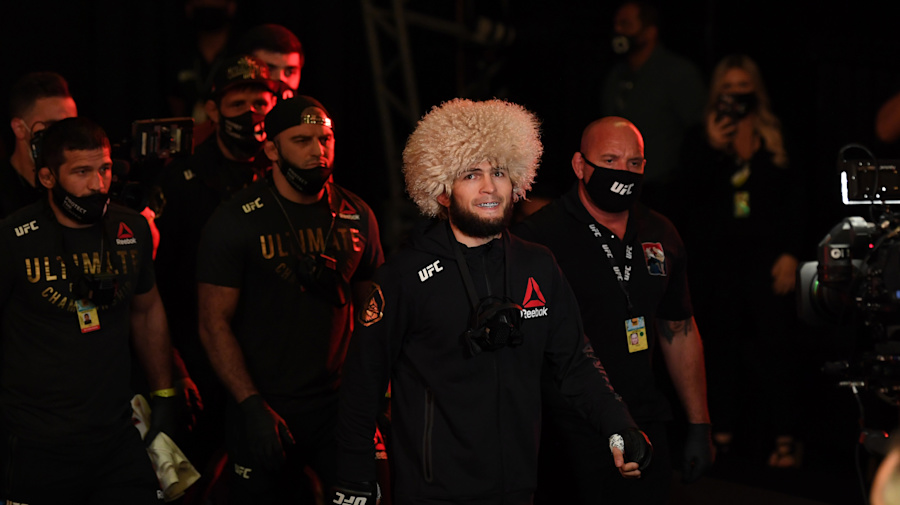 Khabib going out on top as the GOAT of MMA
