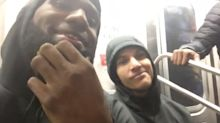The Cavs take NYC subway, and LeBron learns not to film people on the train