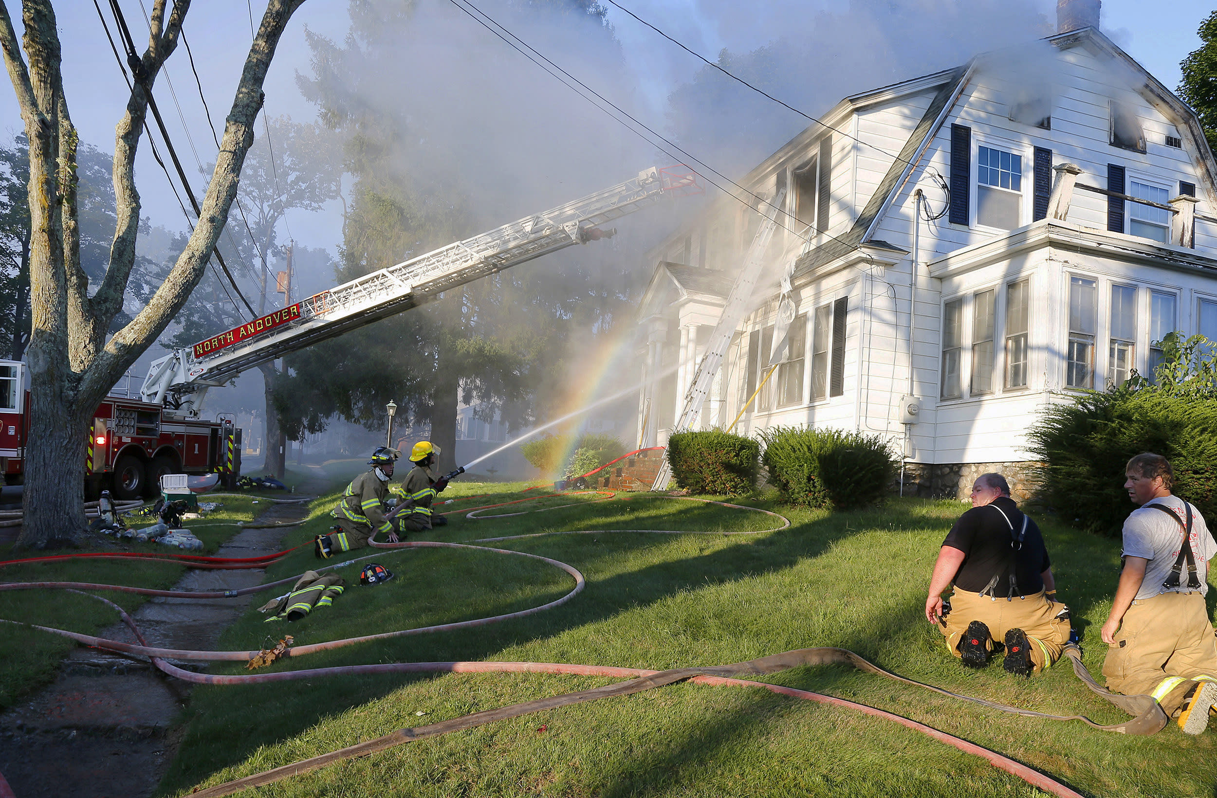 Deadly gas explosions rock Boston-area towns