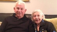 Elderly couple died holding hands within minutes of each other after 69 years of marriage