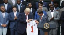 Clemson honored by President Trump at the White House (Video)