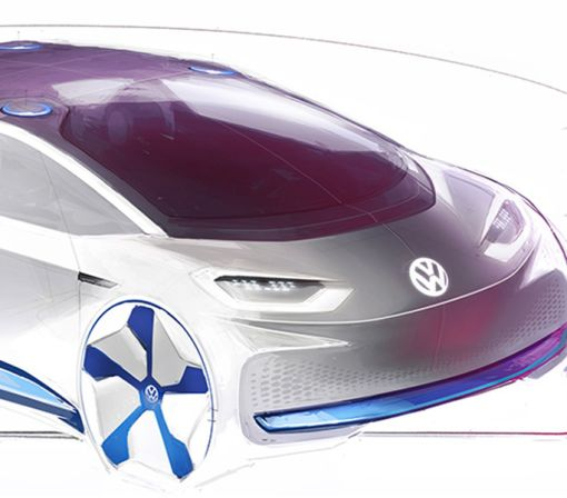 Volkswagen Teases Its Paris-Bound 300-Mile Electric Car Concept