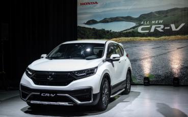 Honda CR-V 堅強實力超越群倫,以 16,300 台榮獲 2020 國產 SUV 年度銷售冠軍!