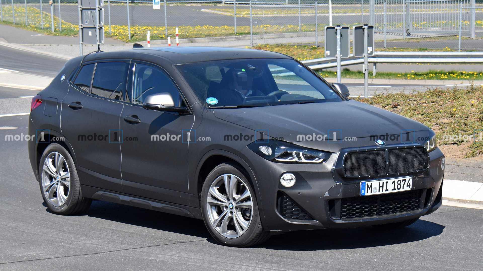 BMW X2 Refresh Spied Not Hiding Much Of A Facelift