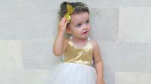Millie-Belle Diamond, la niña modelo de dos años que debutará en la Fashion Week de Nueva York