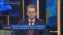 Vontobel CEO on its deal with Lombard Odier