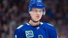 Elias Pettersson speaks about showing off his personality and building a brand