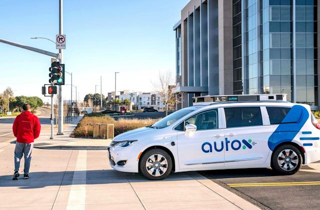 Fiat Chrysler and AutoX confirm plans to work on robotaxis