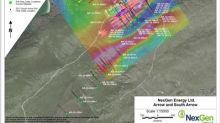 NexGen's Winter Assays Confirm Uranium Mineralization in Newly Discovered Areas of the A0 Shear, 160 m Northwest and Northeast Along Strike from the A1 and A2 Shears, and Strong Continuity From Infill Drilling at Arrow Deposit