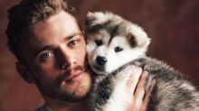 Olympian Gus Kenworthy rescued his puppy from a horrible fate