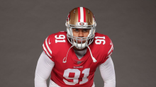 49ers' Armstead excited about reuniting with ex-Duck teammate Jordan