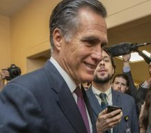 Mitt Romney violated Senate rules by drinking chocolate milk