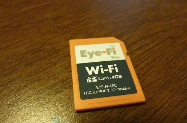 Eye-Fi Pro wireless SD card hands-on