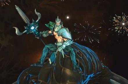 SMITE's newest god controls crowds and water