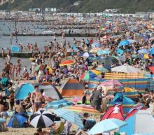 UK heatwave: Chaos at beaches as Britons swarm coastlines and cause two-mile traffic jams
