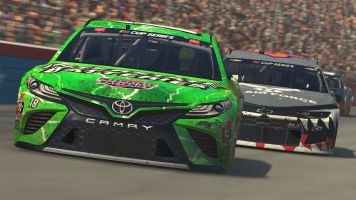 NASCAR stars to square off in short-track iRacing