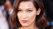 Bella Hadid Got Bangs and It Transformed Her Lob