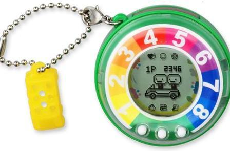 Jinsei Game of Life pedometer makes you exercise to play