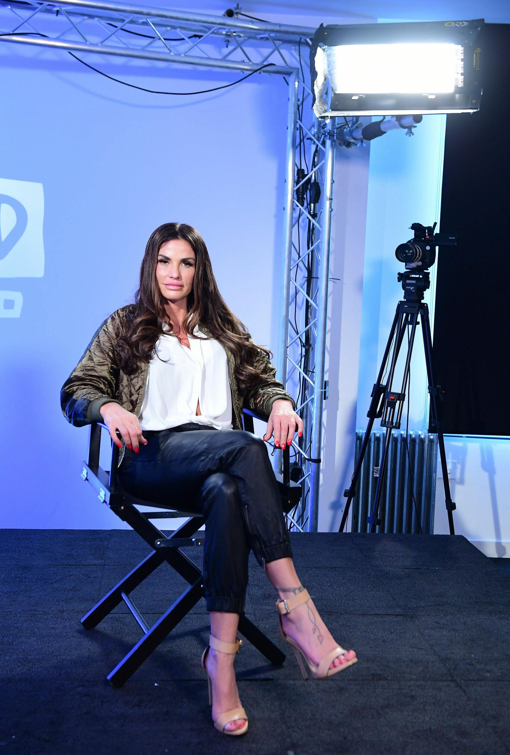 Katie Price joins BUILD for a live discussion at AOL's Capper Street Studio in London.