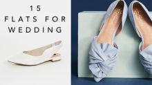 高跟鞋以外的選擇:結婚別苦了雙腿!為新娘們推薦的 14 雙時尚優雅平底鞋