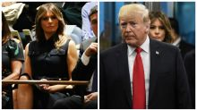 People think Melania Trump is trolling the president by doing this