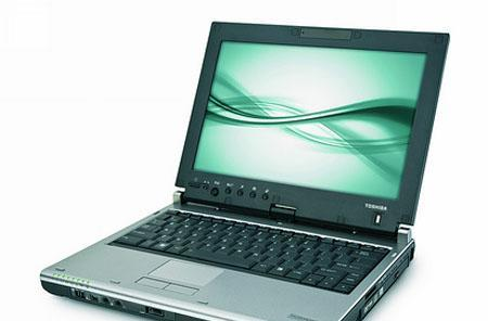 Toshiba Portege M750 reminds us of a tablet we used to see now and then