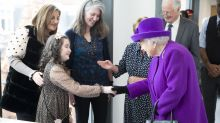 'Splendid!' Queen's heartwarming moment with girl who throws party every year for her hearing