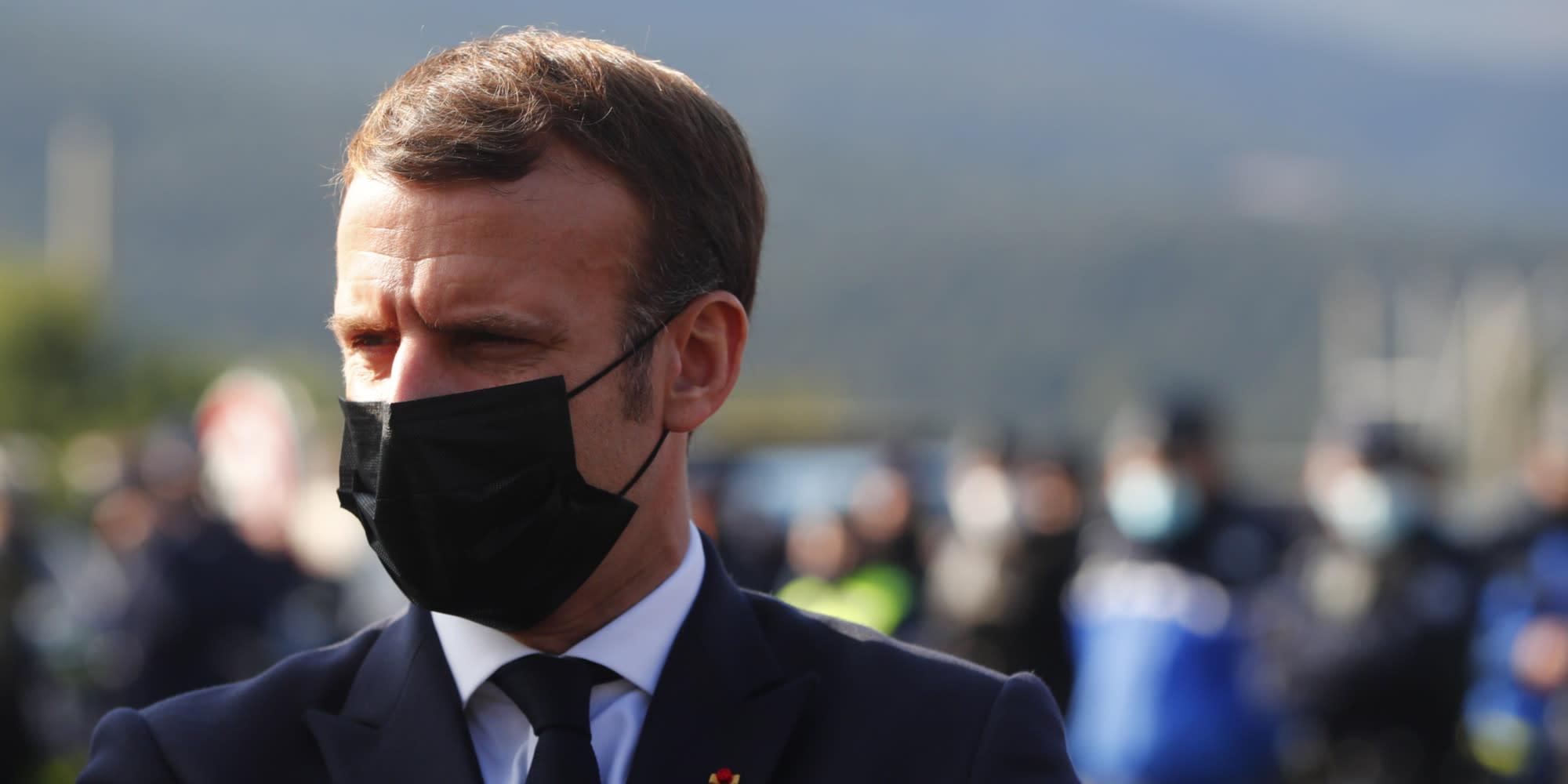 À l'offensive sur la sécurité, Macron va défendre sa politique sur le terrain, à Montpellier
