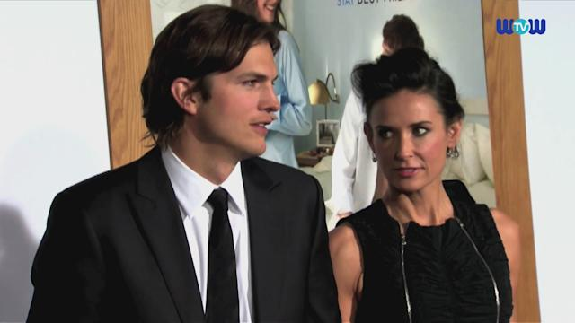 Wowtv- Ashton Kutcher Files For Divorce From Demi Moore A Year After Their Split