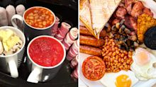 People are loving this woman's slow cooker hack to cook an English breakfast overnight