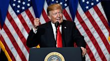 Trump declares Warren 'a very angry person' before cursing the media